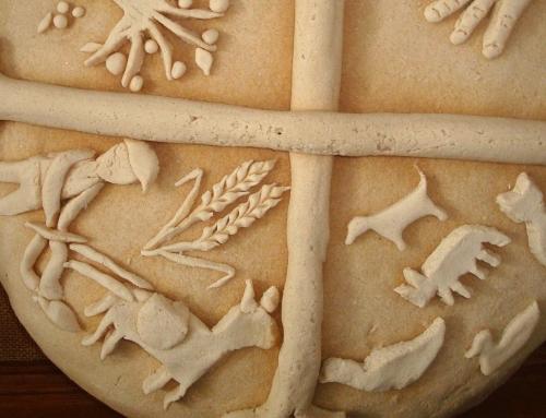 Κεντώντας το ψωμί