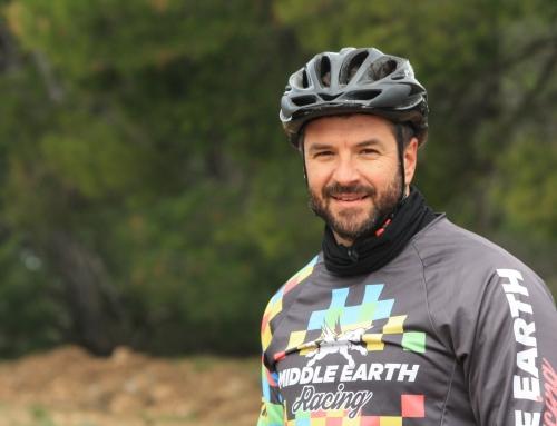 Τεό Διβάνης, mt biker